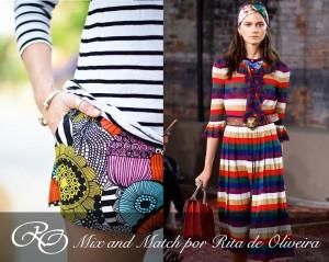 Mix and Match, como mezclar estampados y prendas diferentes.