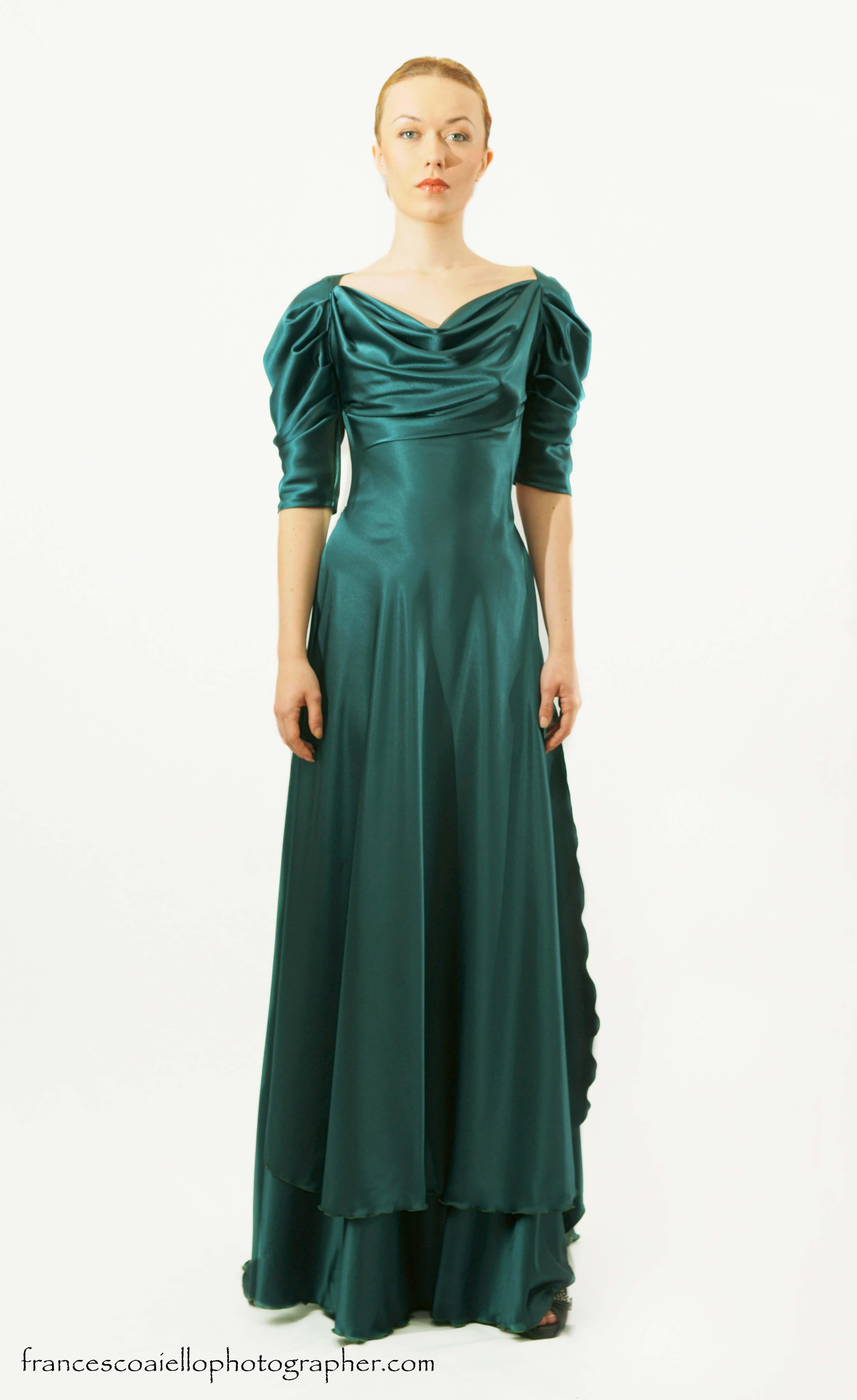 Color verde agua vestidos
