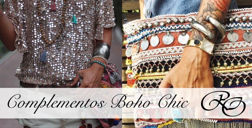 Cómo combinar los accesorios Boho Chic.