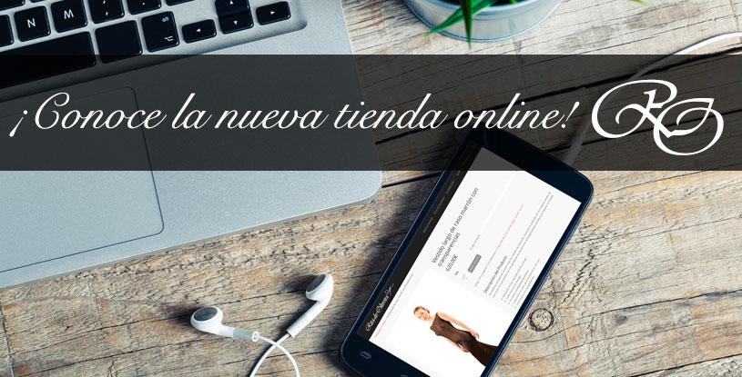 Nueva tienda online de Rita de Oliveira.